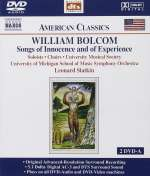 William Bolcom (geb. 1938): Songs of Innocence and of Experience, 2 DVD-Audios