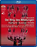 Richard Wagner (1813-1883): Der Ring des Nibelungen (Ausz.), Blu-ray Disc
