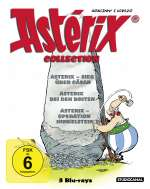 Asterix Collection (Blu-ray), 3 Blu-ray Discs