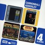 Julian 'Cannonball' Adderley  (1928-1975): 4 Albums, 4 CDs