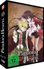 Pandora Hearts Box 4, 2 DVDs