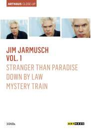 Jim Jarmusch Arthaus Close-Up Vol.1 (OmU), 3 DVDs
