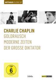 Charlie Chaplin Arthaus Close-Up, 3 DVDs