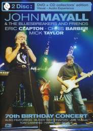 John Mayall: 70th Birthday Concert (DVD + CD), DVD