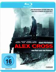 Alex Cross (Blu-ray), Blu-ray Disc