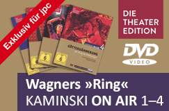 Richard Wagner: Kaminski on Air - Der Ring des Nibelungen (Hörspiel-Theater) – Exklusiv füe jpc auf 4 DVDs