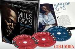 Miles Davis: Kind Of Blue (Deluxe-50th-Anniversary-Collector's Edition) auf 2 CDs + DVD