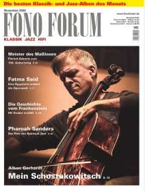 Zeitschriften: FonoForum November 2020, ZEI