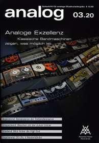 Zeitschriften: analog - Zeitschrift für analoge Musikwiedergabe 03/20, ZEI