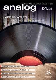 Zeitschriften: analog - Zeitschrift für analoge Musikwiedergabe 01/21, ZEI
