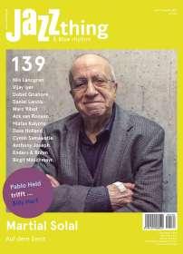 Zeitschriften: JAZZthing - Magazin für Jazz (139) Juni - August 2021, ZEI