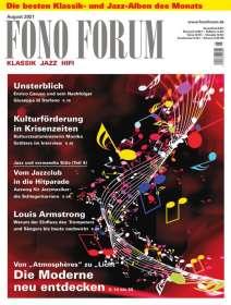 Zeitschriften: FonoForum August 2021, ZEI
