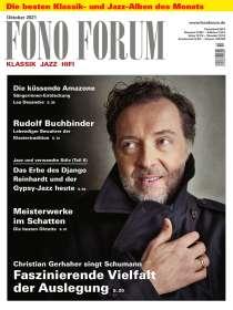 Zeitschriften: FonoForum Oktober 2021, ZEI