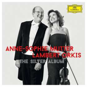 Anne-Sophie Mutter & Lambert Orkis - The Silver Album, CD