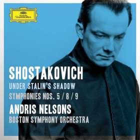 Dmitri Schostakowitsch (1906-1975): Symphonien Nr.5,8,9, CD