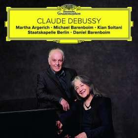Claude Debussy (1862-1918): Fantasie für Klavier & Orchester, CD