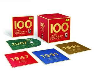 100 Jahre Salzburger Festspiele, CD