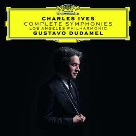 Charles Ives (1874-1954): Symphonien Nr.1-4, CD