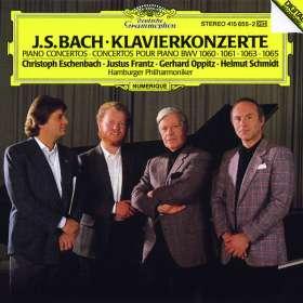 Johann Sebastian Bach (1685-1750): Klavierkonzerte BWV 1060,1061,1063,1065 (180g / exklusiv für jpc), LP