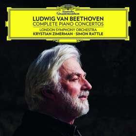 Ludwig van Beethoven (1770-1827): Klavierkonzerte Nr. 1-5, CD