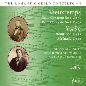 Henri Vieuxtemps (1820-1881): Cellokonzerte Nr.1 & 2, CD