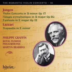 Joseph Jongen (1873-1953): Violinkonzert op. 17, CD