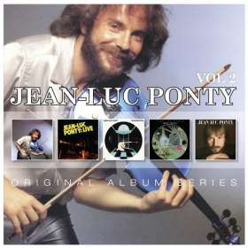 Jean-Luc Ponty (geb. 1942): Original Album Series Vol.2, CD