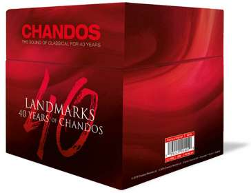 40 Years of Chandos - Landmarks, CD