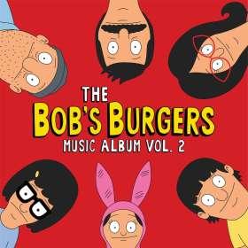 Filmmusik: The Bob's Burgers Music Album Vol.2, CD
