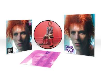 David Bowie: Space Oddity (Limited Edition) (Picture Disc), LP