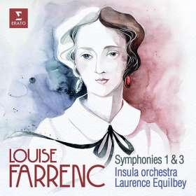 Louise Farrenc (1804-1875): Symphonien Nr.1 & 3, CD
