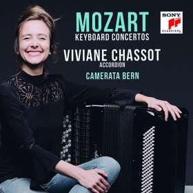 Wolfgang Amadeus Mozart (1756-1791): Klavierkonzerte Nr.11,15,27 (Fassung für Akkordeon & Orchester), CD