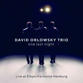 David Orlowsky Trio - One Last Night (Live at Elbphiharmonie), CD