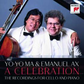 Yo-Yo Ma & Emanuel Ax - A Celebration (The Recordings for Cello and Piano), CD