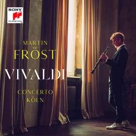 Antonio Vivaldi (1678-1741): Klarinettenkonzerte Nr.1-3, CD