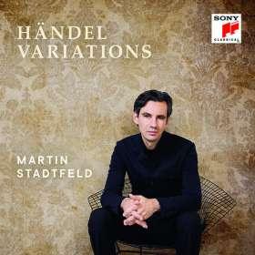 Martin Stadtfeld - Händel Variations, CD