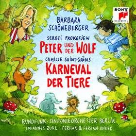 Serge Prokofieff (1891-1953): Peter und der Wolf op.67, CD