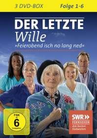 Ulrike Grote: Der letzte Wille Folge 1-6, DVD