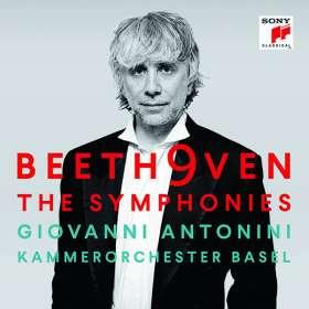 Ludwig van Beethoven (1770-1827): Symphonien Nr.1-9, CD
