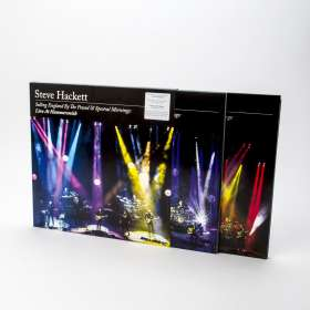 Steve Hackett: Selling England By The Pound & Spectral Mornings: Live At Hammersmith (180g) (Limited Deluxe Edition), LP