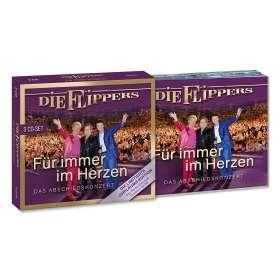Die Flippers: Für immer im Herzen - Das Abschiedskonzert (Limitierte Jubiläumsedition), CD