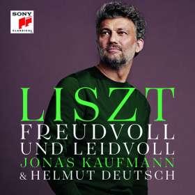 """Franz Liszt (1811-1886): Lieder - """"Freudvoll und Leidvoll"""", CD"""