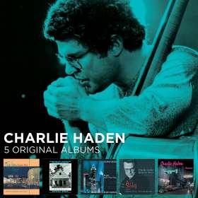 Charlie Haden (1937-2014): 5 Original Albums, CD