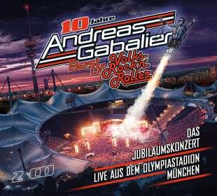 Andreas Gabalier: Best of Volks-Rock'n'Roller – Das Jubiläumskonzert live aus dem Olympiastadion in München, CD