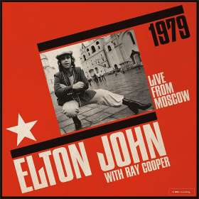 Elton John & Ray Cooper: Live From Moscow 1979, CD