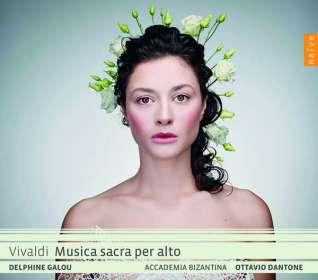"""Antonio Vivaldi (1678-1741): Geistliche Musik """"Musica sacra per Alto"""", CD"""