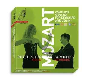 Wolfgang Amadeus Mozart (1756-1791): Sämtliche Sonaten für Violine & Klavier, CD