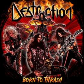 Destruction: Born To Thrash: Live In Germany, CD