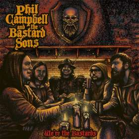 Phil Campbell: We're The Bastards (Deluxe Edition), CD