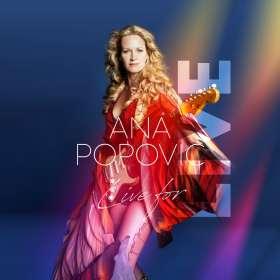Ana Popovic: Live For LIVE, CD